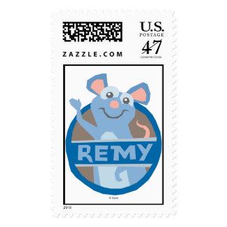 Ratatouille Remy que agita Disney Estampilla