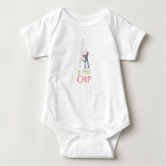 Ratatouille Remy vintage standing with spoon Baby Bodysuit