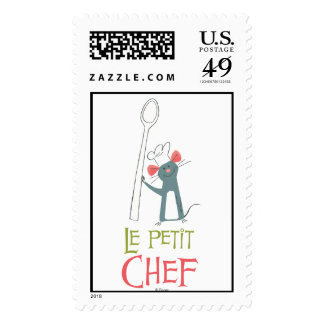 Ratatouille Remy vintage standing with spoon Stamps
