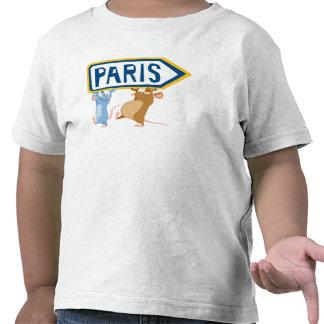 Ratatouille Remy y Emilio Disney Camiseta