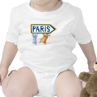 Ratatouille Remy y Emilio Disney Trajes De Bebé