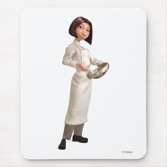 Ratatouille's Colette Chef Disney Mouse Pad