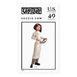 Ratatouille's Colette Chef Disney Stamps