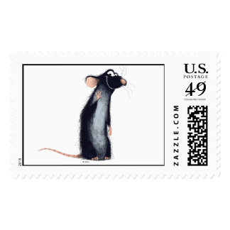 Ratatouille's Remy Disney Stamps