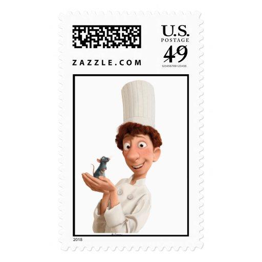 Ratatouille's Remy Linguini Disney Postage Stamps