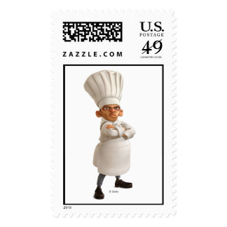Ratatouille's Skinner Disney Postage