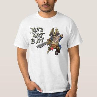 Ratbeard el pirata remera