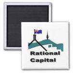 RatCap Fridge Magnet
