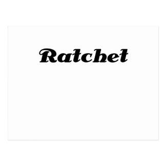 Ratchet Postcard