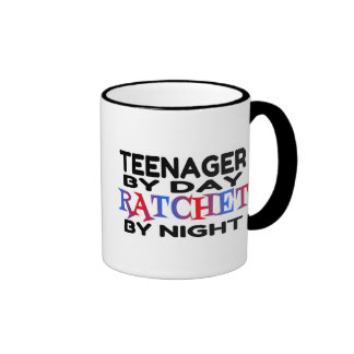 Ratchet Teenager Ringer Coffee Mug