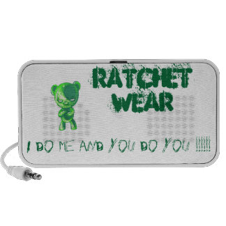 Ratchet Wear iPod Speakers