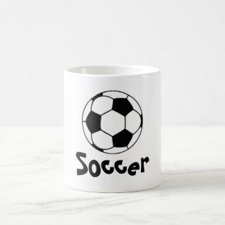 Rate of soccer coffee mug
