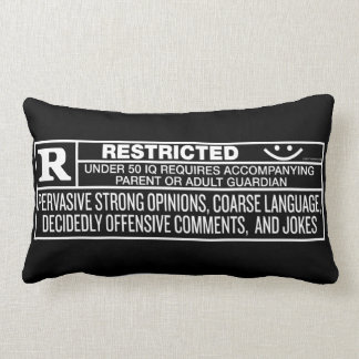 Rate R Throws Lumbar Pillow