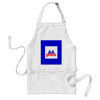 Rated AA plus Adult Apron