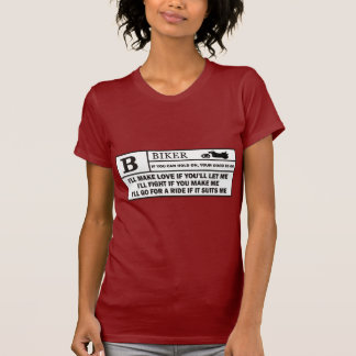 Rated B T-shirts