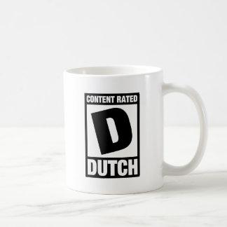 Rated D: Dutch Mug