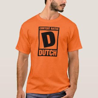 Rated D: Dutch T-Shirt