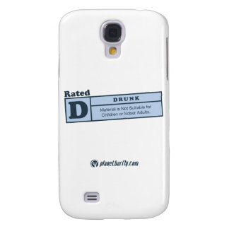 rated-d for drunk samsung galaxy s4 cover