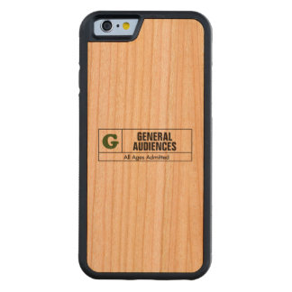 Rated G Carved® Cherry iPhone 6 Bumper Case