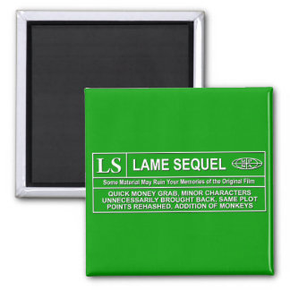 Rated LS 2 Inch Square Magnet