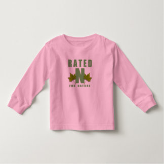 RATED N FOR NATURE TSHIRTS