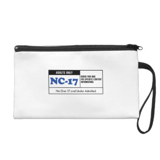 Rated NC-17 Wristlet Clutches