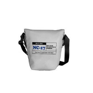 Rated NC-17 Messenger Bag