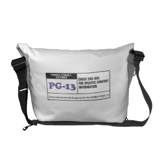 Rated PG 13 Messenger Bags