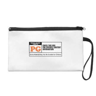 Rated PG Wristlet Purses