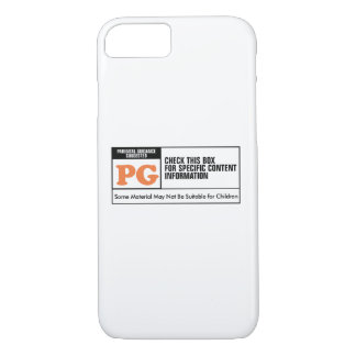 Rated PG iPhone 7 Case