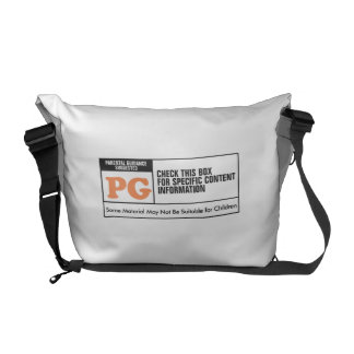 Rated PG Courier Bag