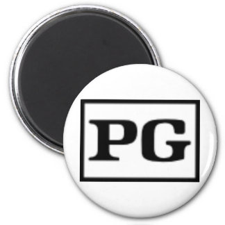 Rated PG, Rating System 2 Inch Round Magnet
