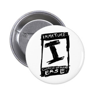 Rated Pinback Button