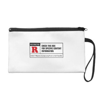 Rated R Wristlet Clutch