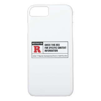 Rated R iPhone 7 Case