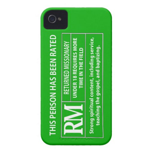 Rated RM 18 Smartphone Cover iPhone 4 Case-Mate Case