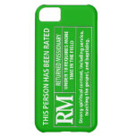 Rated RM 18 Smartphone Cover iPhone 5C Covers