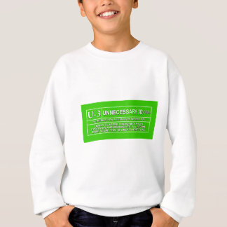 Rated U-3 Sweatshirt