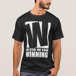 Rated W For Winning - Dark T-Shirt