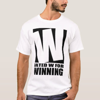 Rated W For Winning T-Shirt