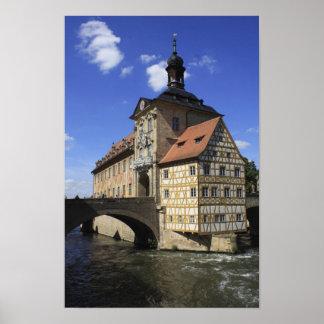 Rathaus de Bamberg, Alemania Póster