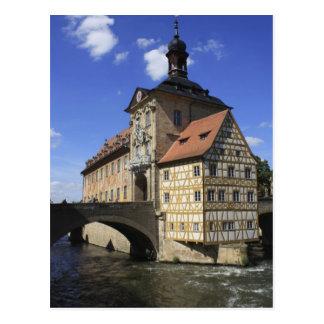 Rathaus de Bamberg, Alemania Tarjeta Postal