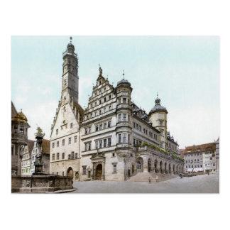 Rathaus de Rothenburg Tarjetas Postales