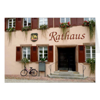 Rathaus Note Card