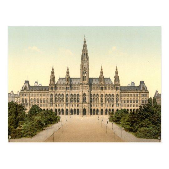 Rathaus, Vienna, Austria Postcard