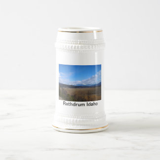 Rathdrum, Idaho Beer Stein