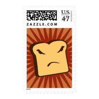 Rather Angry Toast Postage
