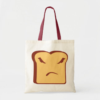 Rather Angry Toast Tote Bag