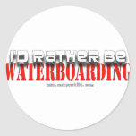 Rather B Waterboarding Stickers