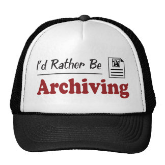 Rather Be Archiving Mesh Hat